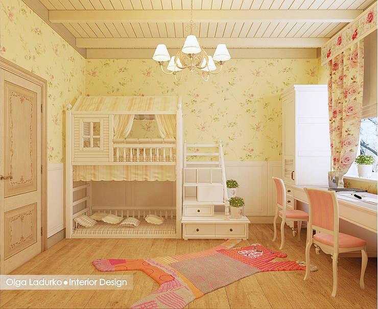 غرفة الاطفال تنفيذ Design by Ladurko Olga