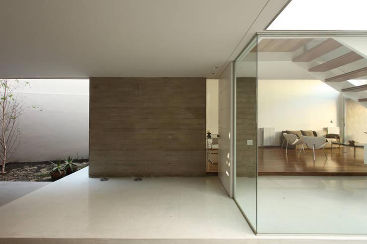F 2400: Jardines de invierno de estilo minimalista por costa & valenzuela