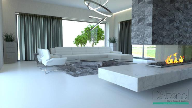 Ambiente Residencial - Sala de Estar: Sala de estar  por Distone
