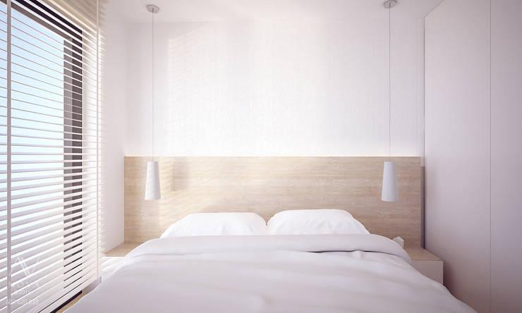 projekt mieszkania - sypialnia: styl , w kategorii Sypialnia zaprojektowany przez Nova