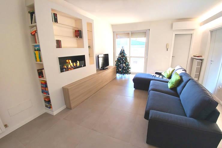 غرفة المعيشة تنفيذ Valeria Sdraiati