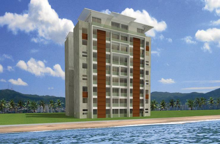 Torres del Rio - MAC Arquitectos Consultores: Casas de estilo  por MAC Arquitectos Consultores