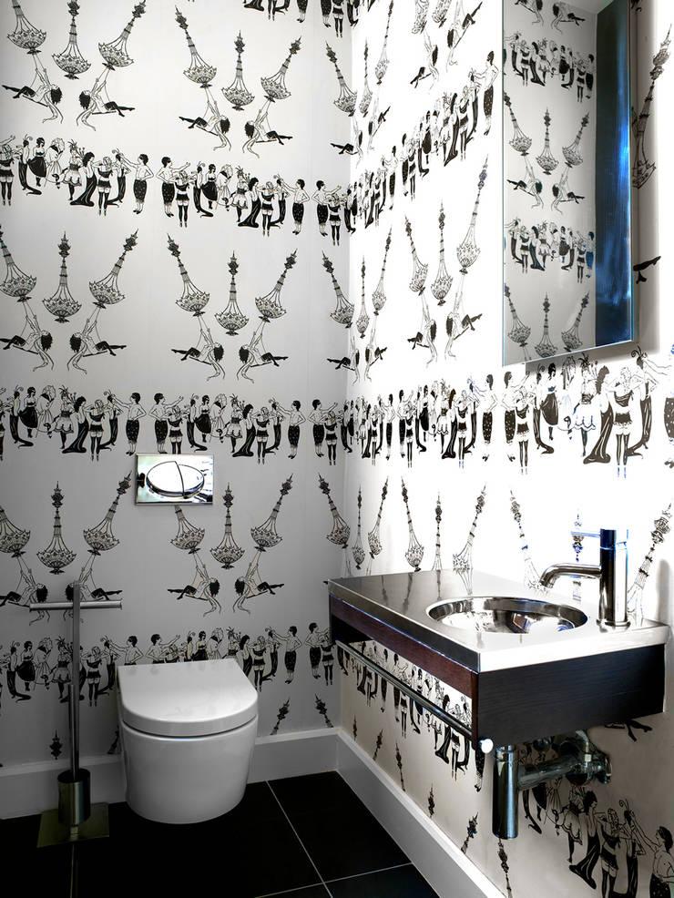 Guest W.C:  Bathroom by Deborah Garth Interior Design