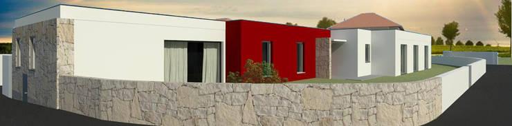 Casa Ribela: Casas  por OPUS - MATER