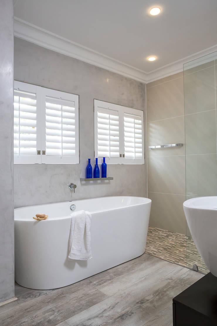 New main bathroom:  Bathroom by Deborah Garth Interior Design
