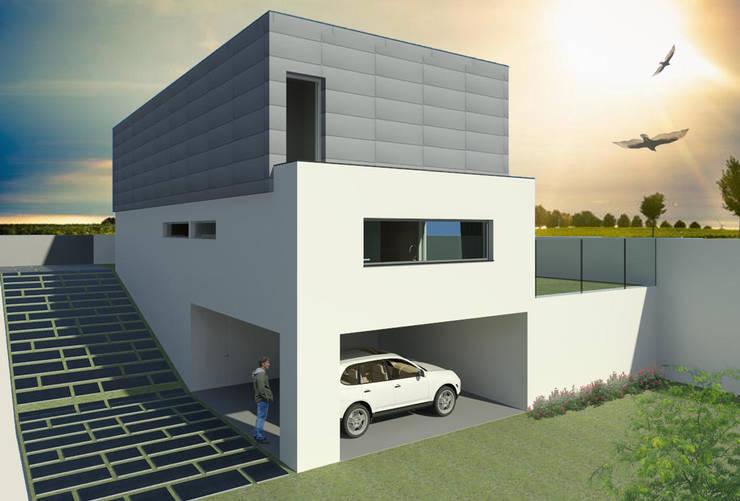 Casa Guilhovai: Casas  por OPUS - MATER