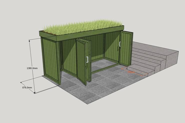 sichtschutz f r m lltonnen 10 geniale ideen. Black Bedroom Furniture Sets. Home Design Ideas