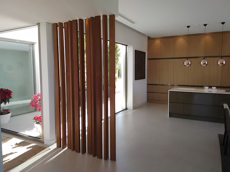 Cocinas de estilo mediterraneo por GESTEC. Arquitectura & Ingeniería