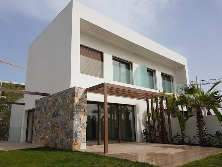 Casas de estilo  por GESTEC. Arquitectura & Ingeniería