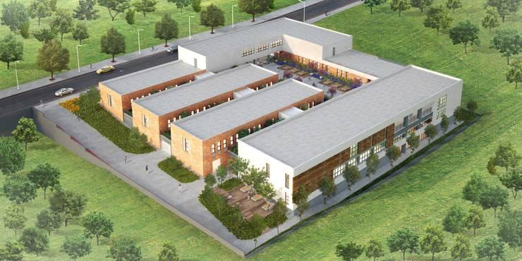Pronil – Başakşehir Engelli Rehabilitasyon Merkezi:  tarz Evler, Modern Tuğla