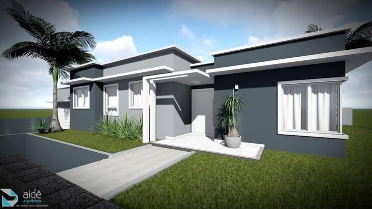 Casas de estilo  por Aidê Arquitetura