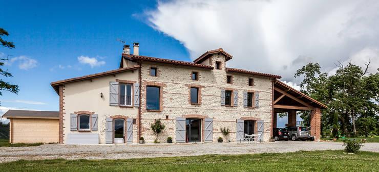 Дома в . Автор – Hugues TOURNIER Architecte