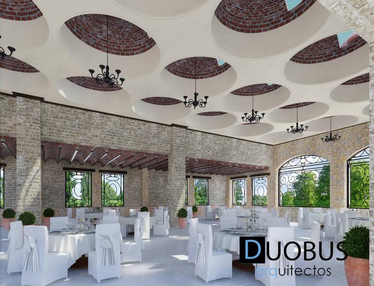 Interior Salón 1: Terrazas de estilo  por DUOBUS M + L arquitectos