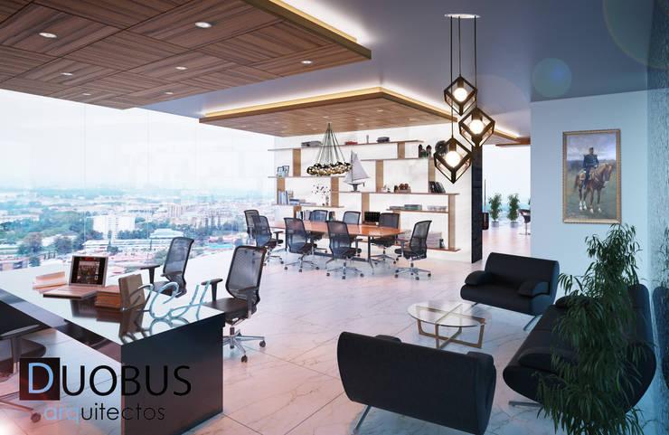 OF.: Estudios y oficinas de estilo  por DUOBUS M + L arquitectos