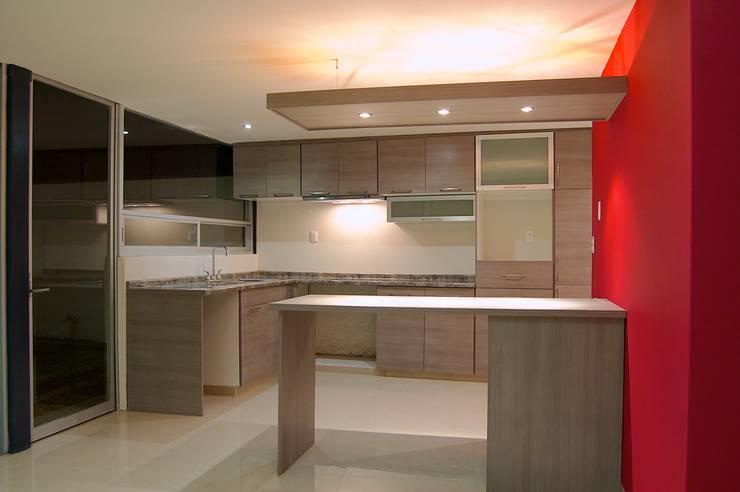 Emperadores Cocinas modernas de Diseño Alternativo Arquitectos Moderno