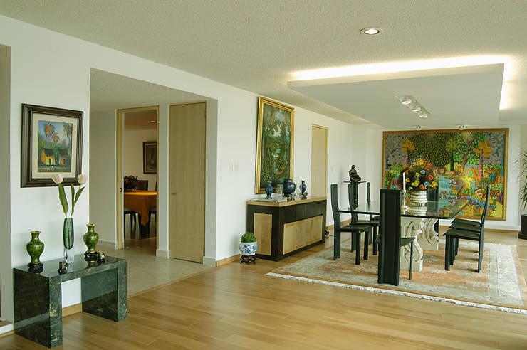 Proyecto Lomas: Salas de estilo  por Diseño Alternativo Arquitectos