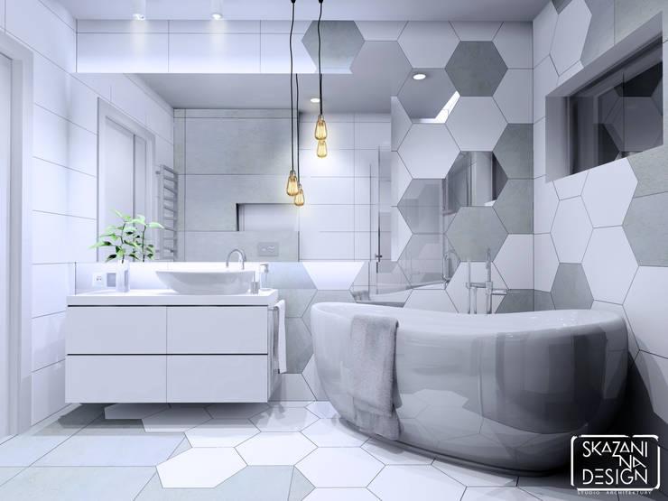 Bathroom by SKAZANI NA DESIGN Studio Architektury