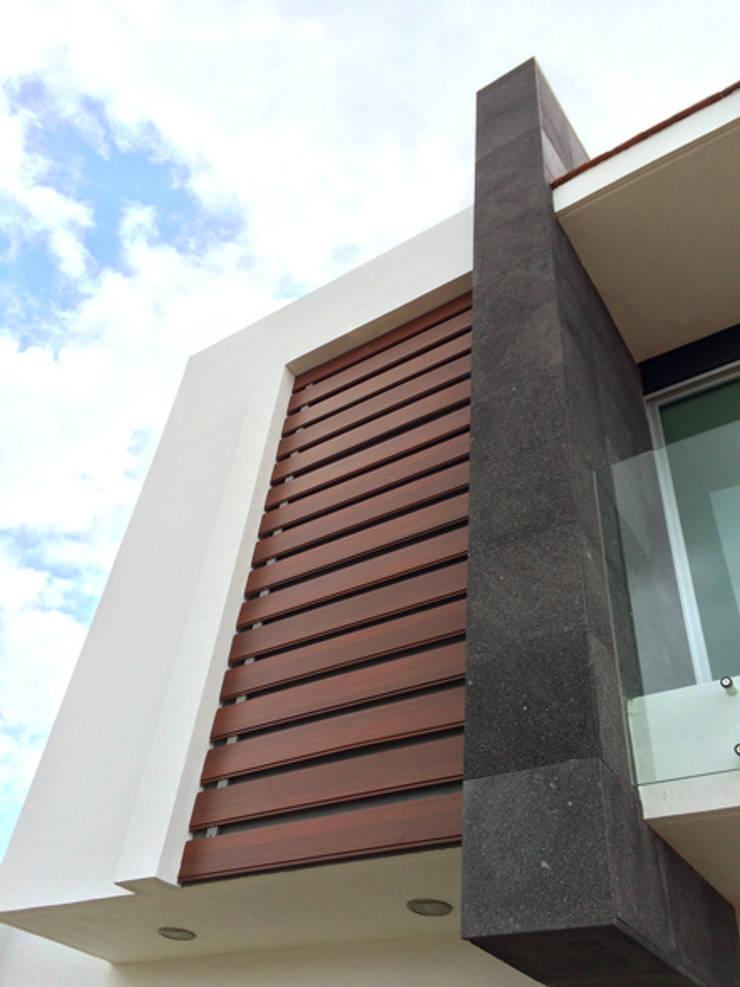Privada Paraíso: Casas de estilo  por Base-Arquitectura
