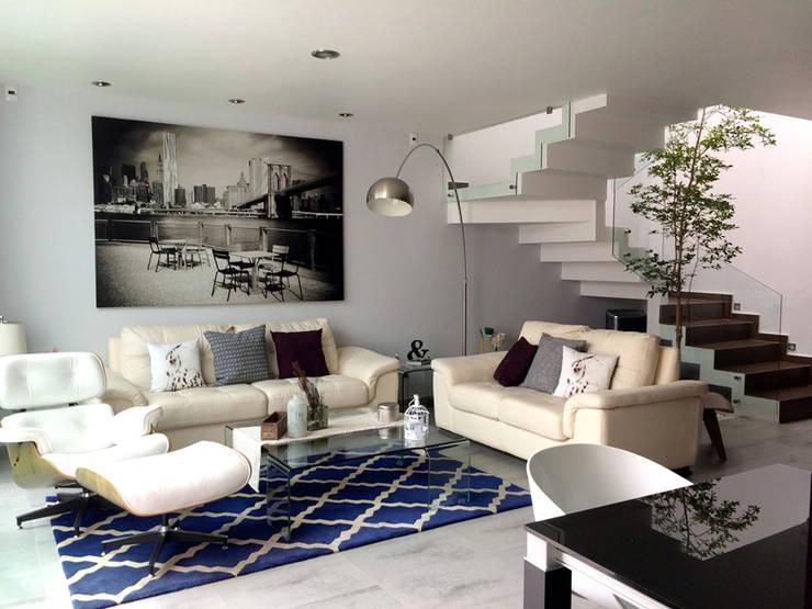 Salas de estilo  por Base-Arquitectura