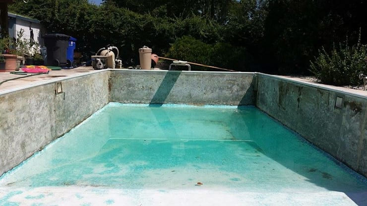 Comienzo de el proceso de rehabilitación. :  de estilo  por Avel Benapi Services, dba, ABS Pool Patrol