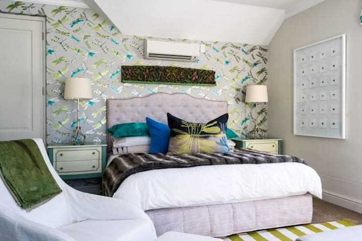 House Paterson Road:  Bedroom by The Painted Door Design Company, Eclectic