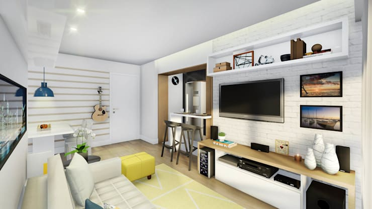 غرفة المعيشة تنفيذ JS Interiores