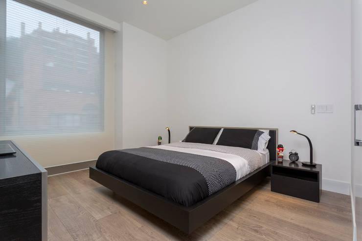 Спальни в . Автор – Bloque B Arquitectos