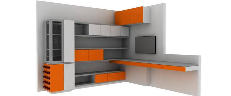 Mobiliario: Estudio de estilo  por Lúdico Arquitectos