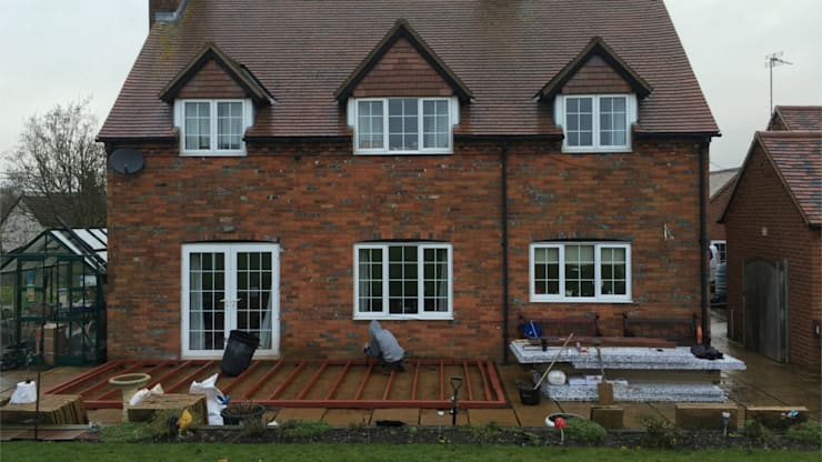 Steel Conservatory Base:  Conservatory by Premier Conservatories & Windows