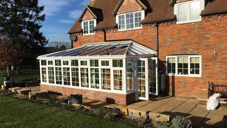Conservatory Completed in 7 Days:  Conservatory by Premier Conservatories & Windows