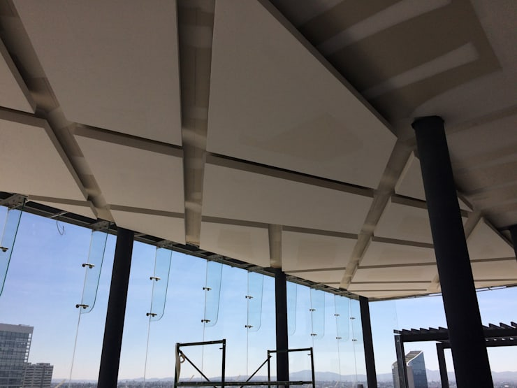 PLAFON SOBRE DISEÑO TORRE MARSALLA: Recámaras de estilo  por Element+1 taller de arquitectura