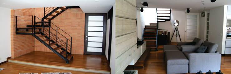 Apto Cr 3 – Cll 74 :  de estilo  por Bloque B Arquitectos