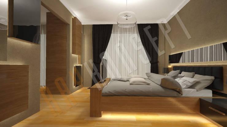 RayKonsept – Yatak Odası Tasarımı: modern tarz , Modern