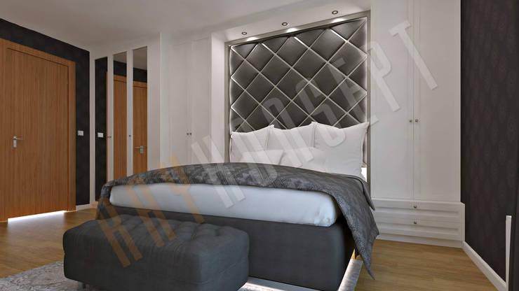 RayKonsept – Klasik Yatak Odası Tasarımı: modern tarz , Modern