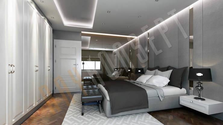 RayKonsept – Yatak Odası Tasarımı: modern tarz Yatak Odası