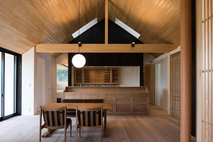 Столовые комнаты в . Автор – 窪江建築設計事務所