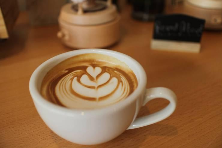 Latte art:   by  good space  plus interiror- architect co.,ltd