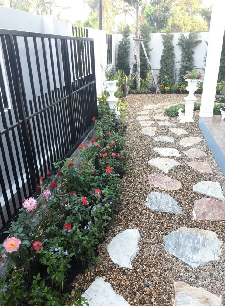 Jardins  por Dear_landscape , Rústico OSB