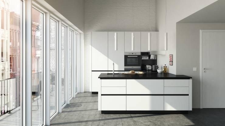 Cocinas de estilo minimalista por Hehku