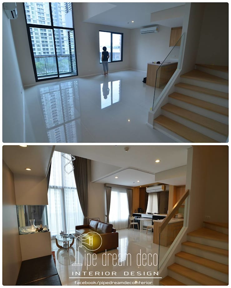 Interior construction Project – Villa Asoke Condominium:   by pipedreamdeco
