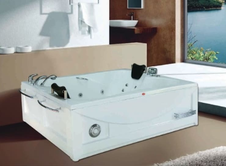 Yapıes Banyo – 190x150 Cift kisilik jakuzi: modern tarz Banyo