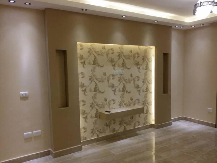 حوائط وورق حائط مع شركة كاسل:  جدران وأرضيات تنفيذ كاسل للإستشارات الهندسية وأعمال الديكور في القاهرة