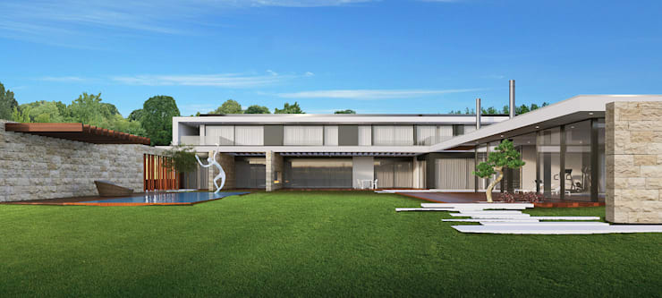 Casa ECOHouse Dona Elizabete:   por Risco Singular - Arquitectura Lda