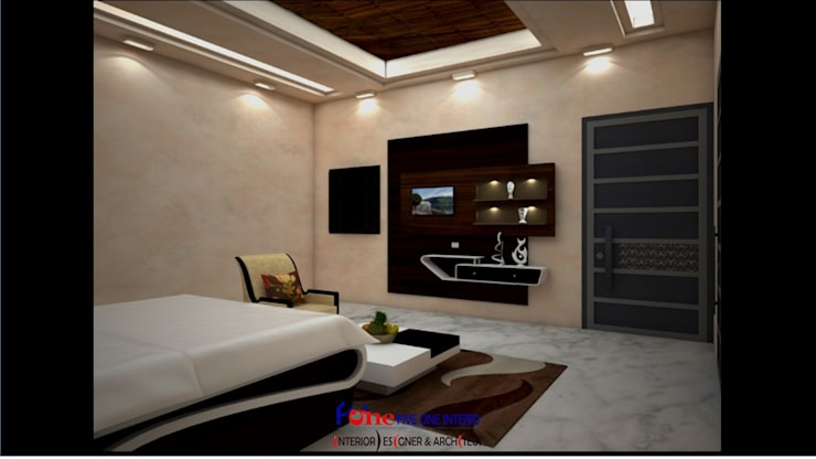 Bedroom by Five One Interio