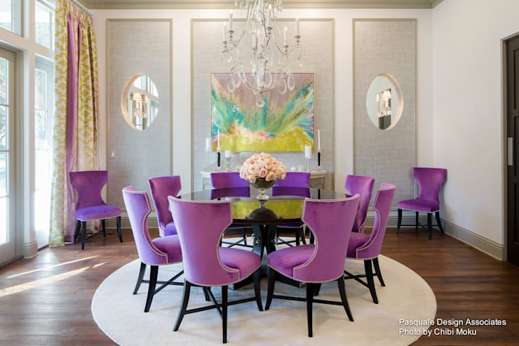 modern Dining room by Chibi Moku