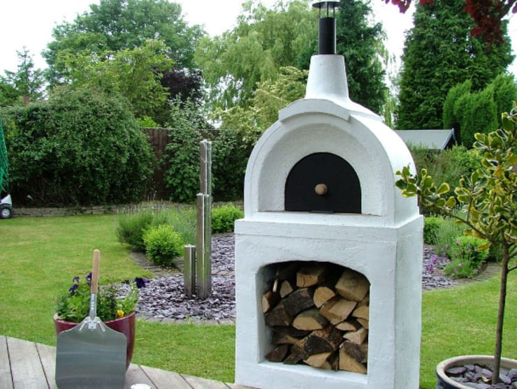 Pizza Oven Tuin : Wood fired pizza ovens door vitcas homify