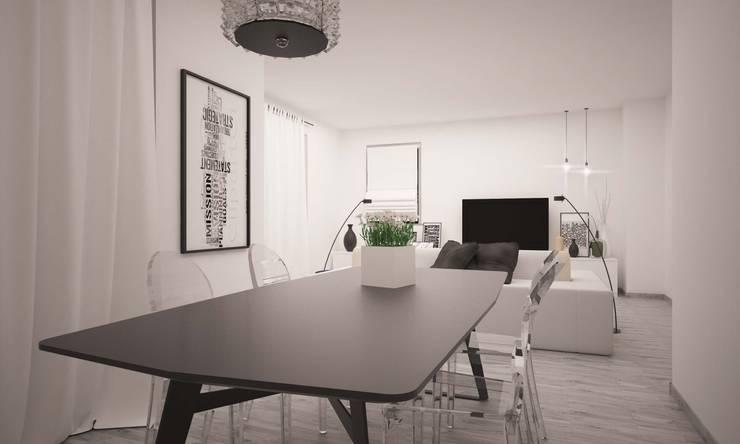 Comedores de estilo  por LAB16 architettura&design