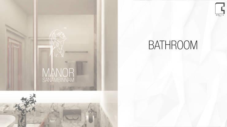 Interior Design Project for the Manor Condominium Sanambinnam in Nonthaburi, Thailand:   by CAL Design Co., Ltd.