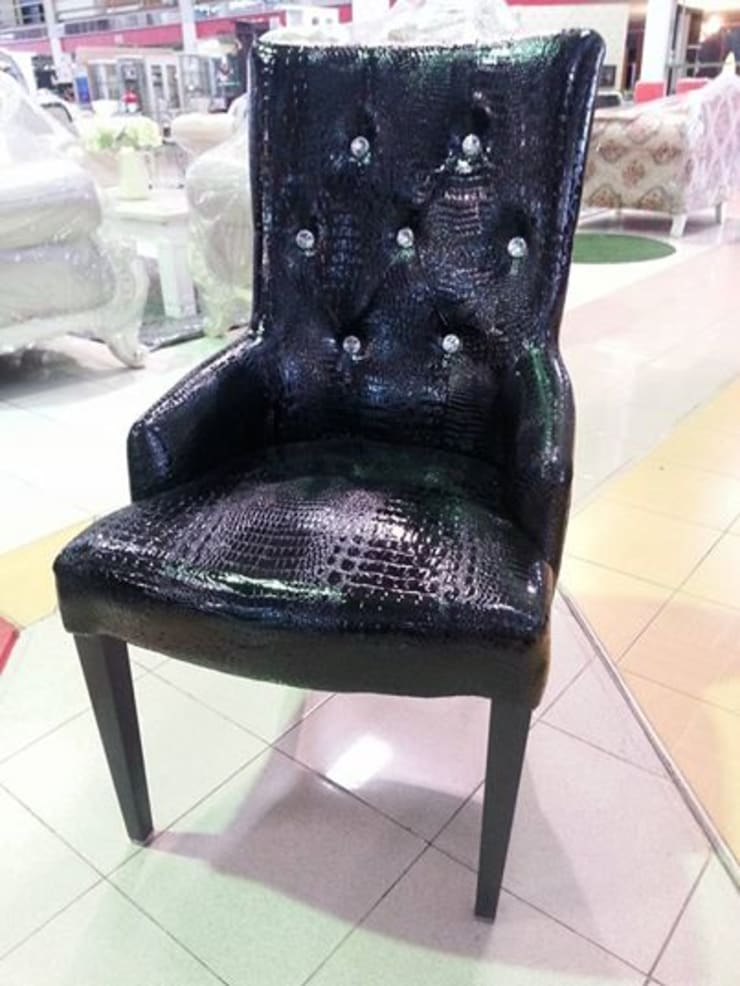 ชุดอาหารหินอ่อนเหลี่ยม SET 6 ที่นั่ง:   by Sweet Home Furniture