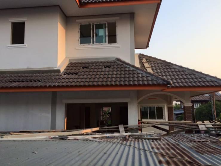 งานก่อสร้างบ้านพัก คสล. สองชั้นครึ่ง:   by หจก.สยามคอนสรัตคชั่น แอด์น คอนเซาท์